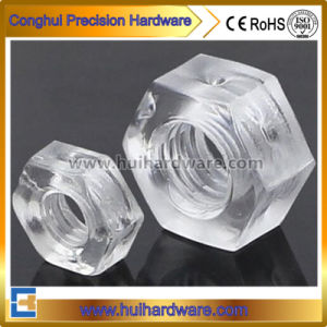 Polycarbonate Clear Type Hex Nylon Nut pictures & photos