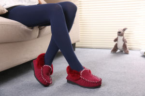 Fashion Sheepskin Women Shoes Indoor and Light Outdoor pictures & photos
