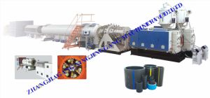 HDPE Pipe Extrude Machine pictures & photos