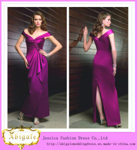 off- The- Shoulder Sleeveless Mother of The Bride Dress 2013 (MI 3536) pictures & photos