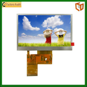 TFT LCD Screen with 4.3-Inch LCD Size and 480 X 272 Pixels Display Resolution