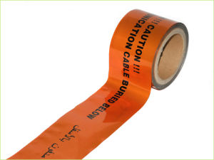 Al Foil Detectable Warning Tape for Underground Pipe Cable Warning pictures & photos