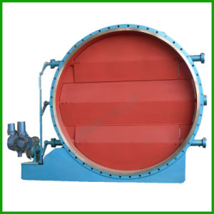 Round Louver Butterfly Valve-Round Louver Exhaust Butterfly Valve pictures & photos