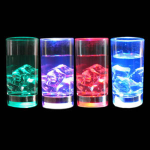 Flashing Liquid Activated Shot Glass (QSG-024) pictures & photos
