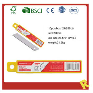 Stationery Utility Knife Blade in PP Box pictures & photos