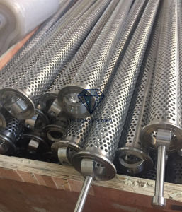 Large Stock Perforated Style Bar Style Drilling Pipe Screen for 5′′ 4′′1/2 Drill Pipe pictures & photos