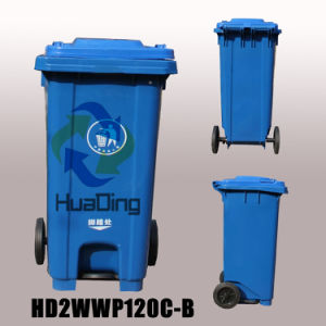 Environmentally Plastic Garbage Dustbin for Outdoor From China pictures & photos