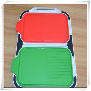 Plastic Cutting Chopping Board (VK14017) pictures & photos