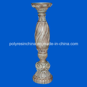 Polyresin Wood Look Candle Holder pictures & photos