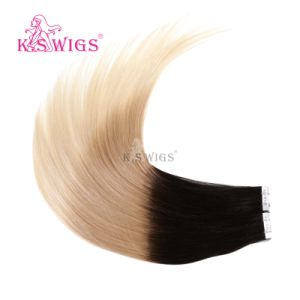 New Arrival 3 Ombre Colors Tape Hair Extension Remy Brazilian Hair pictures & photos