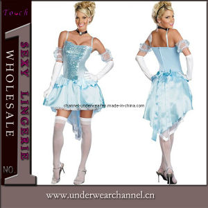 Fancy Dress Sexy Adult Party Costume, Midnight Princess Costume (TLQZ8944) pictures & photos
