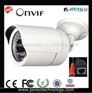 CCTV IP Camera 720p CMOS Waterproof IR Bullet Camera (JYR-9711IPC-1.0MP) pictures & photos