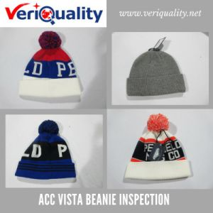 Acc Vista Beanie Quality Control Inspection Service at Dezhou, Shandong pictures & photos