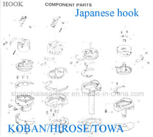 Hook Component Spare Parts