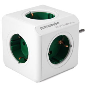 Powercube Socket EU Plug 5 Outlets Adapter-16A 250V 3680W pictures & photos