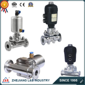 Stainless Steel Pneumatic Diaphragm Valves pictures & photos