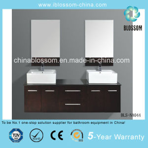 Best Seller Wall Mounted Bathroom Vanity MDF Bathroom Cabinet (BLS-NA044) pictures & photos