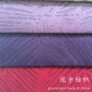 Nylon Corduroy Sofa Fabric with Burn out Treatment pictures & photos