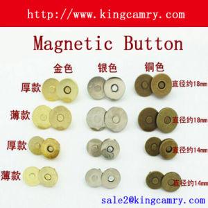 18mm/14mm Dia Magnetic Button Bag Clothe Purse Snap pictures & photos
