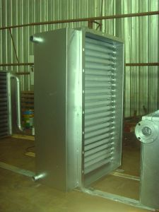 Gas Water or Steam Aluminium Fins Heater Coiled Radiators& Heat Exchangers for Hardwood Drying Kilns
