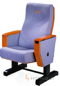 China Auditorium Products Cinema Chair Home Theater System Theater Furniture (HJ77) pictures & photos