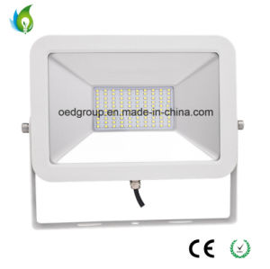 100W LED Floodlight iPad Shape with Black or White Case with PF 0.95 and 120lm/W pictures & photos
