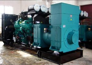 625kVA High Voltage Diesel Generator Set (4160V-13800V; 25kVA-2500kVA) pictures & photos