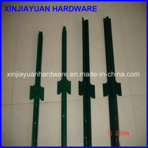 Green Painted U Post Fence Post with Spade pictures & photos