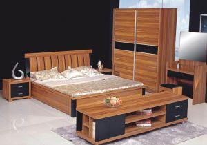 6PCS Durable Wooden Bedroom Wardrobe Set (HH23T) pictures & photos