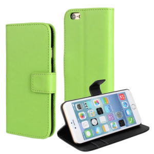PU Leather Flip Mobile Phone Case for iPhone