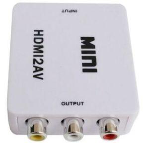 Mini HDMI to Cvbs/AV HDMI2AV Converter pictures & photos