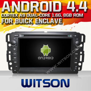 Witson Android O. S. 4.4 Version Car DVD for Buick Enclave (W2-A7036) pictures & photos