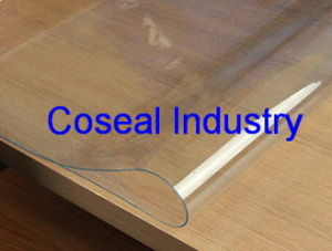Coseal Transparent Packing Flexible Palstic PVC Sheet pictures & photos