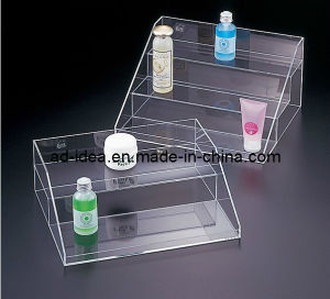 Acrylic Pop Display, Retail /Merchandising Cosmetic Counter Display with Printing pictures & photos