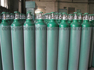 6.5m3 Oxygen Cylinders with Chromed Oxygen Valves Cga540 pictures & photos