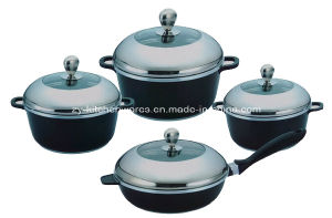 8-Piece Die-Cast Aluminum Cookware Set (ZY-ST8-1)