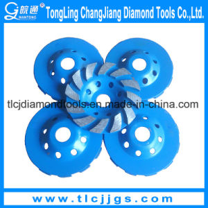 Customized Rim Diamond Grinding Cup Wheel for Granite pictures & photos