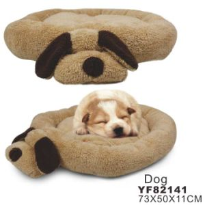 Dog Head Funny Big Size Soft Pet Bed pictures & photos