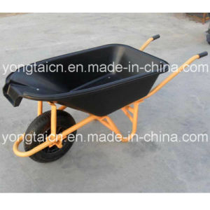85L Build Poly W/Pour Lip Wheelbarrow for Australia Market (678016) pictures & photos