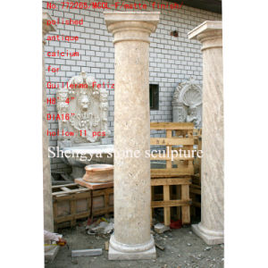 Surface Polished Antique Stone Sculpture Column (SY-C009) pictures & photos