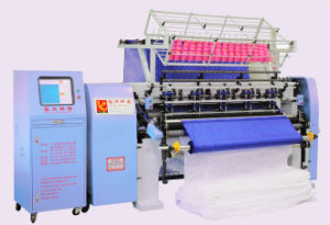 "64"" Shuttle Multi Needle Quilt Production Machine, Lock Stitch Quilting for Garments pictures & photos"