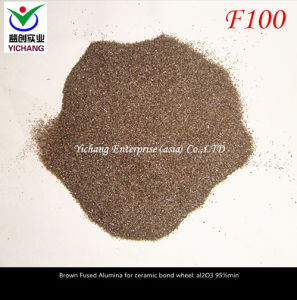F80, F100, F120 Brown Corundum for Polishing Stainless Steel pictures & photos