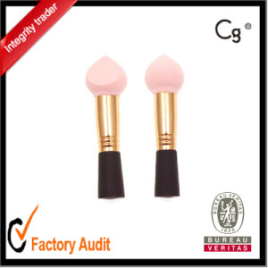 Short Handle Foundation Blender Make up Sponge Logo Print Avaiable pictures & photos