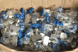 NPT Forged Thread Needle Valve pictures & photos