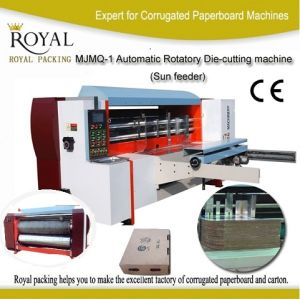Automatic Rotatory Die-Cutting Machine (Sun feeder) , Corrugated Paperboard Die-Cutting Machine pictures & photos