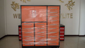 Orange Heavy Duty Tool Work Bench with 23 Drawers pictures & photos