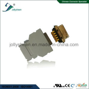 SCSI Mdr Pitch 1.27mm Soldering Type 20p Female Header with Grey Housing pictures & photos