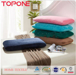 100% Polyester Memory Foam Pillow (T74) pictures & photos