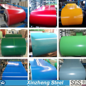 SGS BV Test PPGI/Color Coated Steel Coil, PPGI Cold Rolled Galvanized Steel Coil pictures & photos