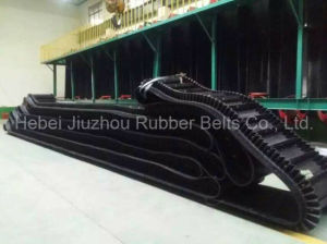 Inclined Sidewall Corrugated Rubber Conveyor Belt pictures & photos